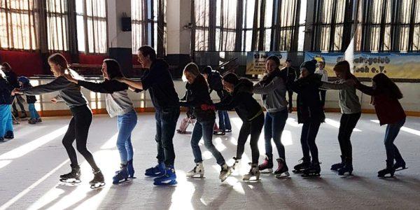 Schlittschuhlaufen / Eissporthalle Wiesloch